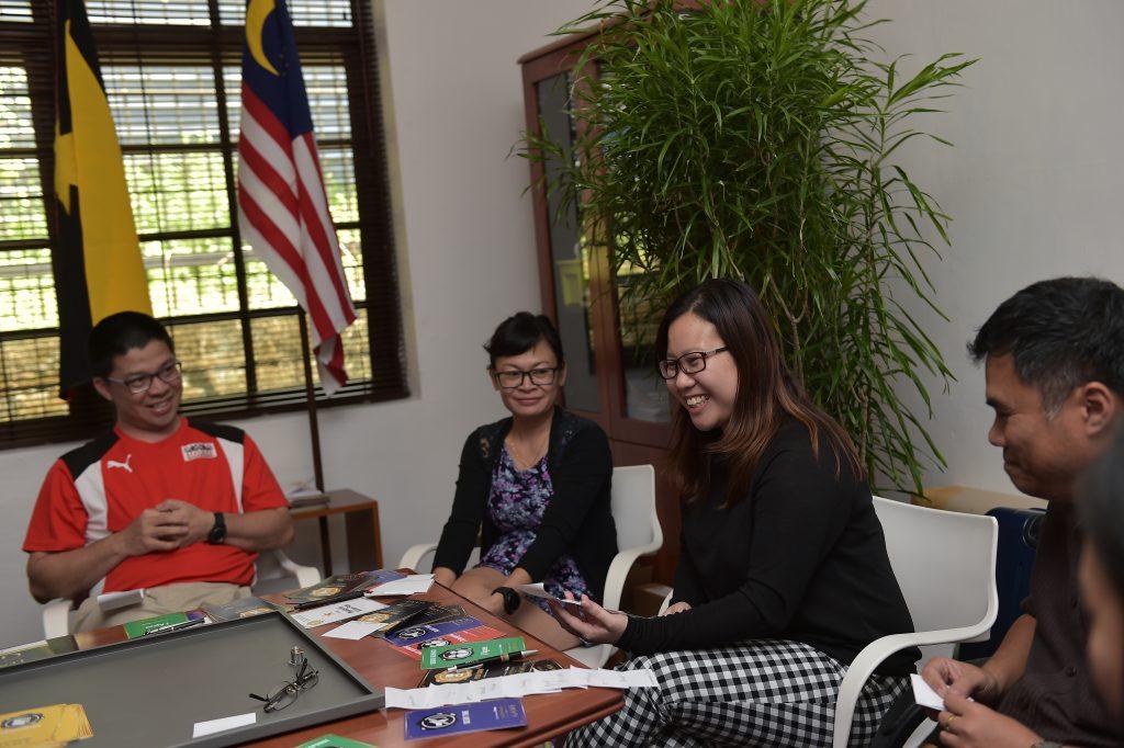 Leadership Game with Sarawak Convention Bureau in Kuching, Malaysia